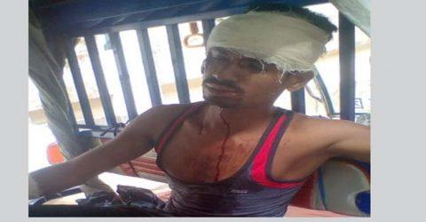 জগন্নাথপুরে ইজিবাইক দুর্ঘটনায় নারীসহ আহত ২