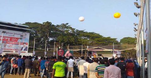 'আজাদ কাপে' ঢাকা বঙ্গবন্ধুর জন্মশতবর্ষের ক্ষণগণনা অনুষ্ঠান!