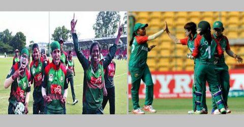 ৪ দলীয় টি-টুয়েন্টি ম্যাচে বাংলাদেশ  নারী ক্রিকেট দল চ্যাম্পিয়ন