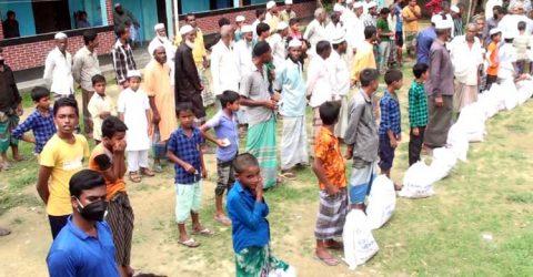 এনআরবি ব্যাংক পরিচালক জামিল ইকবালের সার্বিক তত্ত্বাবধানে ১ হাজার পরিবারকে খাদ্য সহায়তা প্রদান