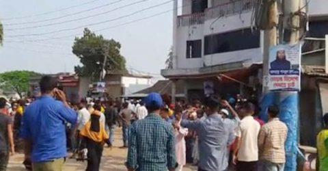 হবিগঞ্জে ব্যাটারিচালিত ইজিবাইক স্ট্যান্ড দখলকে কেন্দ্র করে দু'পক্ষের সংঘর্ষে  ৩০ জন আহত