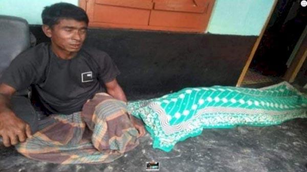 গোলাপগঞ্জে শাক চাষ নিয়ে বাকবিতন্ডা : স্বামীর হাতে স্ত্রী খুন