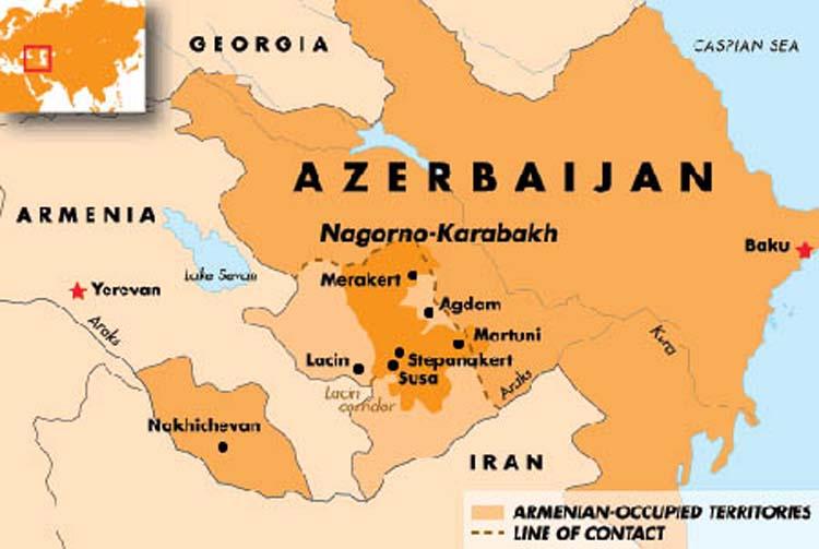 রাশিয়ার মধ্যস্থতায় আর্মেনিয়া-আজারবাইজান শান্তিচুক্তি স্বাক্ষর