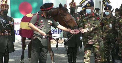 ভারত-বাংলাদেশের সামরিক বন্ধুত্ব দীর্ঘদিনের