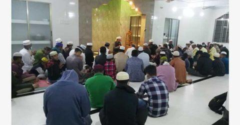 পীর মহল্লায় শাহপরান জামেয়া ইসলামিয়া মাদ্রাসা মসজিদের উদ্বোধন