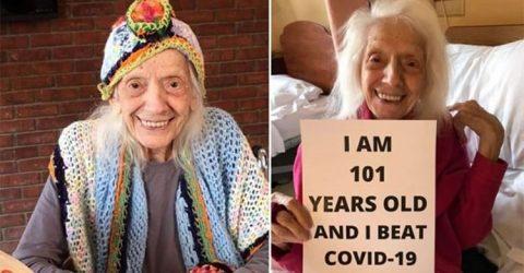 ১০১ বছর বয়সী নারী ৩ বার করোনা আক্রান্ত
