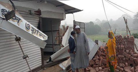 মুন্সীগঞ্জে নিয়ন্ত্রণ হারিয়ে পিকআপ দোকানে, ২ পথচারী নিহত