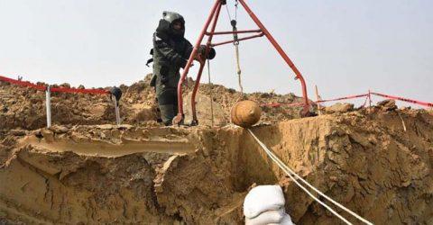 আবারও শাহজালাল বিমানবন্দরে থেকে ২৫০ কেজির  একটি বোমা উদ্ধার