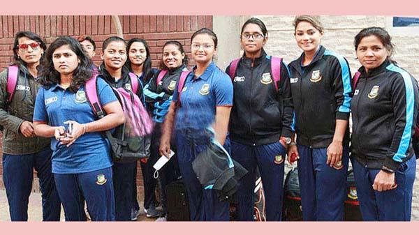 সিলেটে এসেছে নারী ক্রিকেটারদের দল, অনশীলন সোমবার