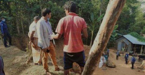 মৌলভীবাজারে টিলা কাটায় এক মাসের জেল