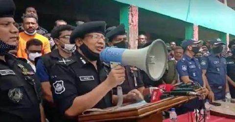 'সাম্প্রদায়িক সন্ত্রাসীদের কালো হাত ভেঙে দেওয়া হবে'