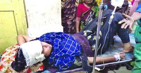হবিগঞ্জে ঘুমন্ত স্কুলছাত্রীকে কোপালো দুর্বৃত্তরা
