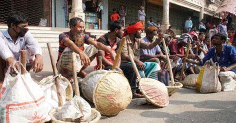কর্মহীনদের সহায়তায় ৫৭২ কোটি টাকা বরাদ্দ