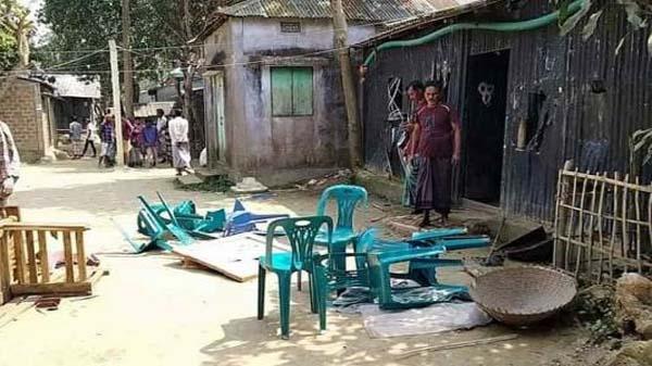 শাল্লায় হামলা : আদালতে ৭২ জনের বিরুদ্ধে মামলা