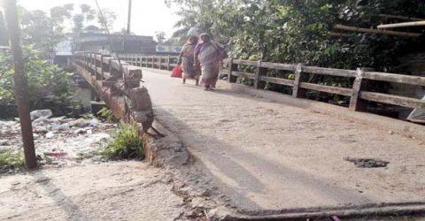 লালাবাজারে বাসিয়া নদীতে নতুন সেতু নির্মানের দাবী