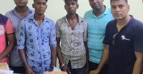 বিয়ানীবাজারের ৩ কেজি গাঁজাসহ দুইজন আটক