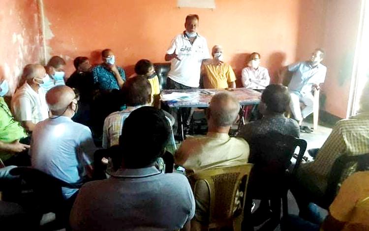 চালিবন্দর মহাশ্মশানের সাধারণ সভায় ২১ সদস্য কার্যকরি কমিটি গঠন