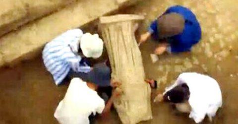তুরস্কে পাওয়া গেল ১৮০০ বছর আগের ভাস্কর্য