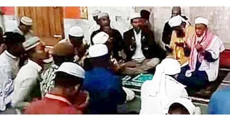হুসেইন মুহাম্মদ এরশাদের মৃত্যুবার্ষিকীতে জেলা মটর শ্রমিক পার্টির দোয়া