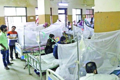 আরও ২১০ জন নতুন ডেঙ্গু রোগী হাসপাতালে ভর্তি
