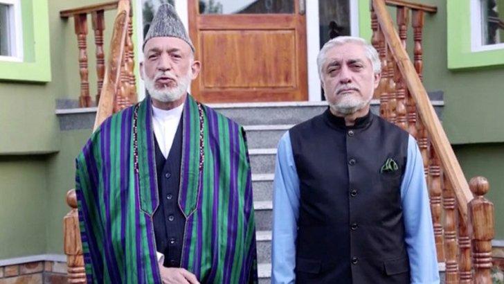 'গৃহবন্দি' হামিদ কারজাই ও আবদুল্লাহ