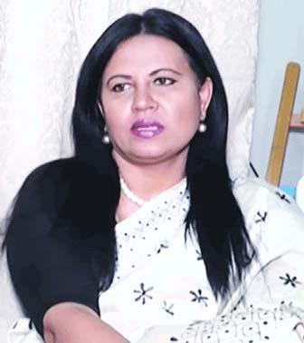 জাতীয় পার্টি পুনর্গঠনে মাঠে নামছেন বিদিশা এরশাদ