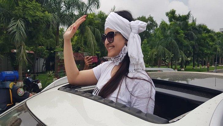 কাশিমপুর কারাগার থেকে মুক্তি পেলেন পরীমনি