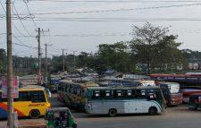 সুনামগঞ্জ-ঢাকা রুটে বাস ধর্মঘট, ভোগান্তিতে যাত্রীরা